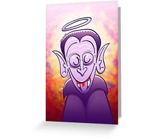 Dracula is Completely Innocent Greeting Card