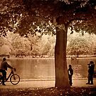 The Serpentine, Hyde Park, October 2012 by Mike  Waldron