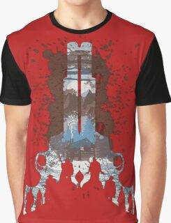 The Hateful Eight 2 guns logo  Graphic T-Shirt