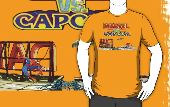 Marvel VS Capcom! by zangotango