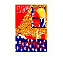 SEASONS GREETINGS 59 Art Print