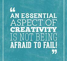 Typography Poster by Matt Edson by Matt Edson