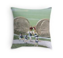 I know the coach said, 'nickel defense' but I'm pretty sure this isn't what he meant!! Throw Pillow