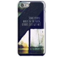 just another rainy day in paradise iPhone Case/Skin