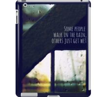 just another rainy day in paradise iPad Case/Skin