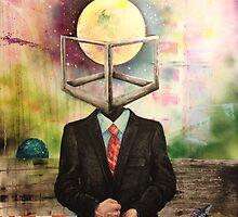 Self Portrait - Friday by Adam  Jones