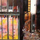The Trap Door Swings Open # 1 by Adam  Jones