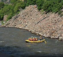 RAFTING THE EAGLE RIVER by Brenda Planchon