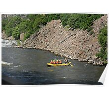 RAFTING THE EAGLE RIVER Poster