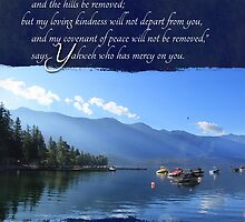 My Loving Kindness Will Not Depart from You - Card by Tracy Friesen