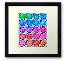 Five By Four Watercolor  Framed Print