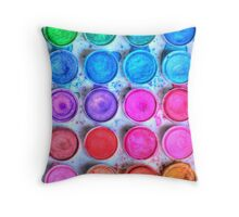 Five By Four Watercolor  Throw Pillow