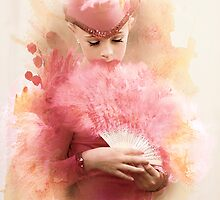 Pink Feathers by Cyn  Valentine