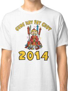 Happy Chinese New Year 2014 Classic T-Shirt