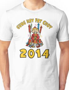 Happy Chinese New Year 2014 Unisex T-Shirt