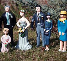 Wedding of the painted dolls by Merice  Ewart-Marshall - LFA