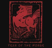 Year of The Horse Baby Tee