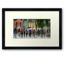 Innsbruck Street Corner Framed Print