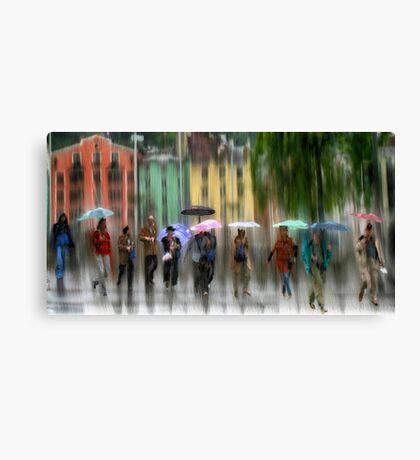 Innsbruck Street Corner Canvas Print