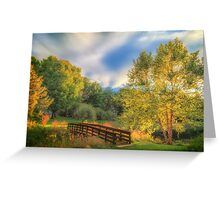 Summer sets on Concord Greene Greeting Card