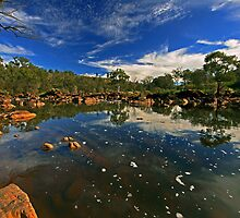 bell rapids pool early winter by Elliot62