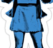 Belle French Blue Sticker