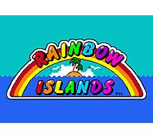 Rainbow Islands Photographic Print