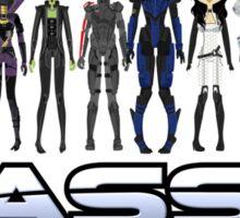 Mass Effect 2 Crew ver. 2 Sticker