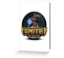 Smite Janus Logo Greeting Card