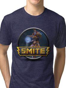 Smite Janus Logo Tri-blend T-Shirt