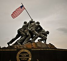 Iwo Jima Memorial by Gustavo Bernal