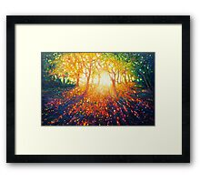 Touched by Magic Framed Print