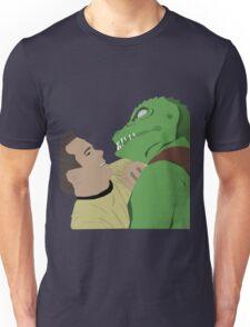 Kirk vs. the Gorn Unisex T-Shirt