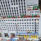 Lego Radio City Music Hall, Lego Rockefeller Center Store, New York City by lenspiro