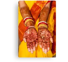 Hina and marriage Canvas Print