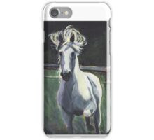 White Horse by Suzanne Marie Leclair iPhone Case/Skin