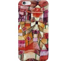 Paul Klee - Rose Garden iPhone Case/Skin