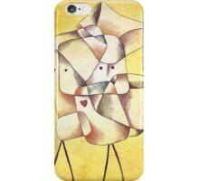 Paul Klee - Siblings iPhone Case/Skin
