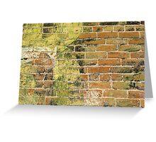 Brick Wall 3 Greeting Card