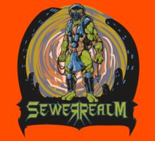 SewerRealm -Blue Kids Tee