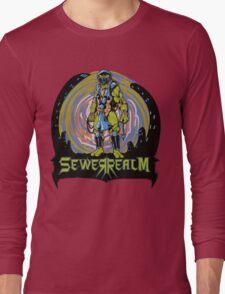 SewerRealm -Blue Long Sleeve T-Shirt