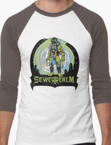 SewerRealm -Blue Men's Baseball ¾ T-Shirt