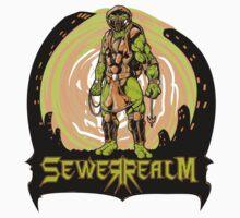 SewerRealm -Orange Kids Clothes
