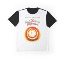 Songs In The key Of Life stevie wonder Tour BDN1 (2) Graphic T-Shirt