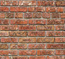 Brick Wall by Photopa