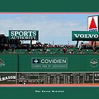 The Green Monster - Fenway Park by Tom Prendergast