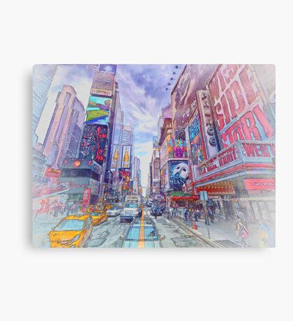 Time Square New York Canvas Print