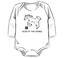 Year of The Horse One Piece - Long Sleeve
