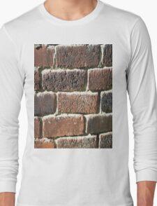 Vintage Bricks Long Sleeve T-Shirt
