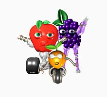 Valxart ApricotBot,BerryBot and AppleBot Unisex T-Shirt